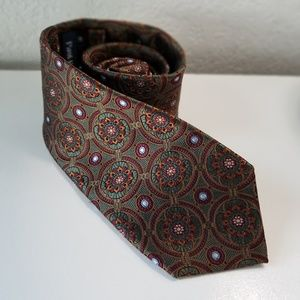 Paul Frederick mens silk tie